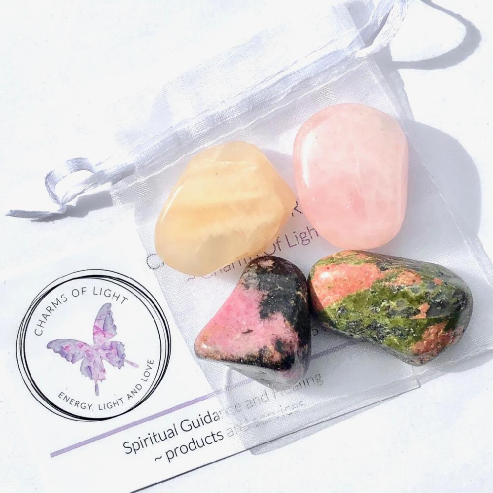 Fertility, Pregnancy & Childbirth Tumble Stone Set