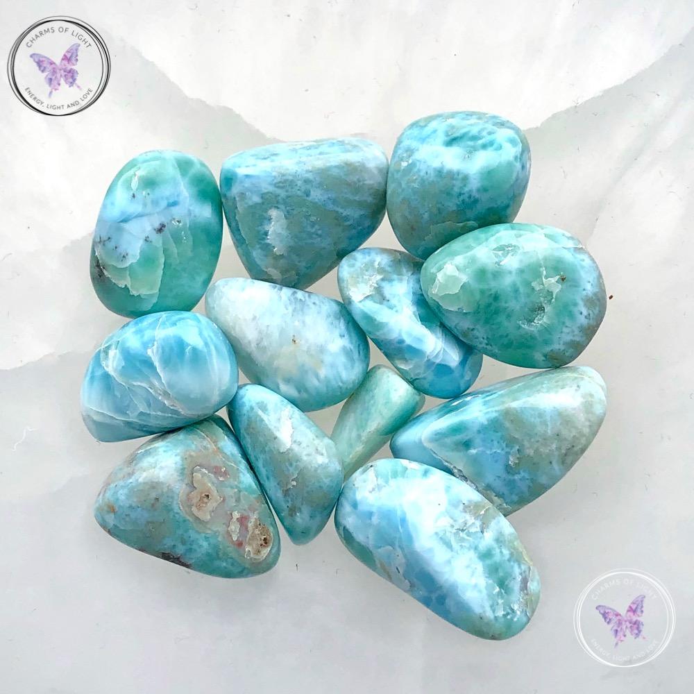 Larimar Tumble Stones
