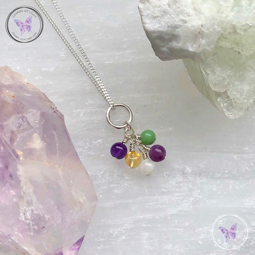 Menopause Cluster Necklace