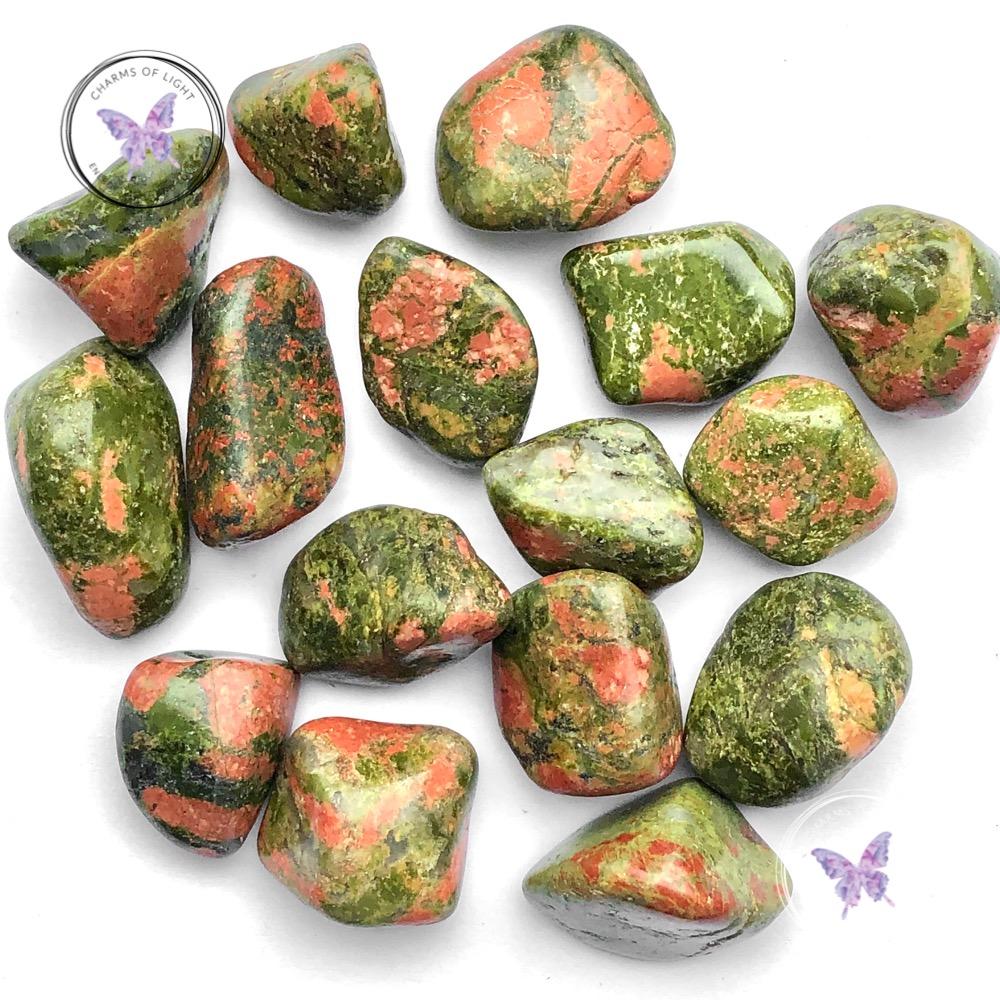 Unakite Tumble Stones